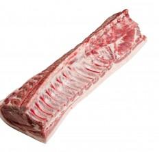 Pork loin bone in rind on